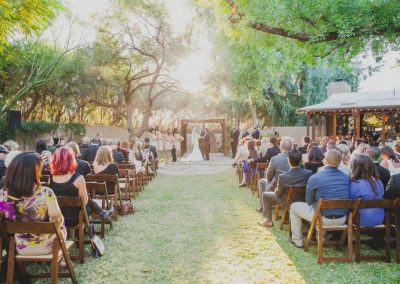 Outdoor Phoenix Wedding Ceremony